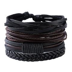 JOEY'S Bracelets &Bangles mens leather bracelets Pulseira Masculina Jewelry Charm Bileklik Pulseiras 1 one size