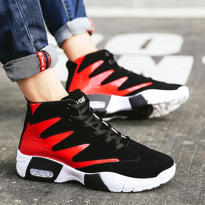 Shoes Men  Sneakers  Men Shoes New Tourist Leisure Men's Fashion Shoes Student Sports Shoes red 42