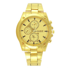 Watches Men Watch Men Men's Steel Belt Watch Business Gold Watch Men's Quartz Watch Watches For Men gold