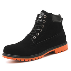 Shoes Men Boots Men Boot Martin's Boots High-top Men's Boots Fashionable Shoes For Men black 40