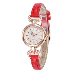 Watches Women Watched Watches Ladies Women's Ribbon Fashion Water Drill Belt Watches For Women red