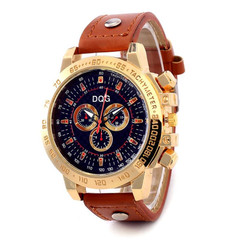 Watches Men Watch Men's watches With Large Dials Sports Watch Retro Quartz Watches For Men brown