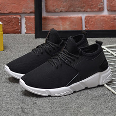 Shoes Women Shoes Ladies Fashion Mesh Sneakers Women Shoes Air-permeable Sports Shoes For Women black 36