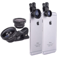 2019 Mobile Week Lenses For Phone Lense Mobile Lens Three-in-one Set Of External Lens black normal