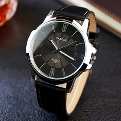 Watches Men Top Brand Luxury Famous Wristwatch Male Clock Wrist Watch Business Quartz watch black