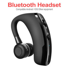 Bluetooth Earphones Business Bluetooth Headset Wireless Stereo Hands-free Headphone Earphone black