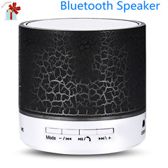 Bluetooth Speaker Bars Speakers Flash LED Night Light TF Card FM AUX Input Bluetooth Speake Speakers voilet normal