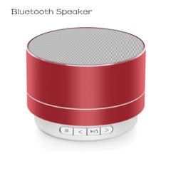 Bluetooth Speaker A10 Bluetooth Speakers Bass Intelligent Subwoofer Card Speaker red normal