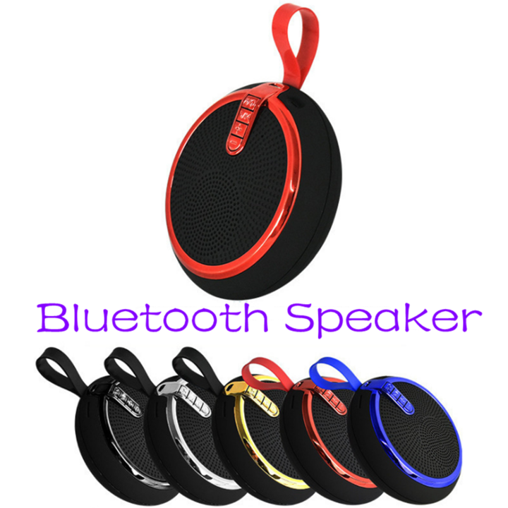 Bluetooth Speaker Bluetooth Speakers Bass Portable Card Wireless Portable Intelligent Speaker red normal