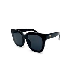 14fd40c065a Women s fashion sunglasses new petty bourgeoisie large frame UV protection  sunglasses black uv 400