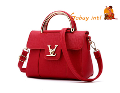 【Gobuy】Hot sales! Luxury women handbag and shoulder bag , office and c red as picture