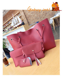 Hot sales! Buy one get three free! Large Women handbags, lady big shoulder bags,office big bags red as picture