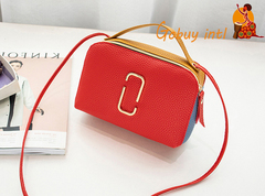 【Gobuy】Pinky Summer Lady Handbag, women lovely shoulder bag red as picture