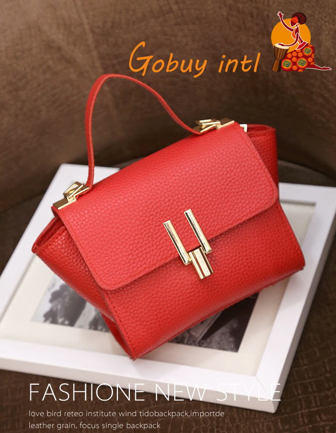 【Gobuy】Lady Lovely handbag &shoulder bag, women colorful shoulder bag red as picture