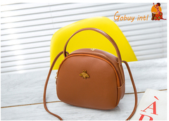 2019 Gobuyintl big promotion! Lady colorful shoulderbags, women summer handbags brown as picture
