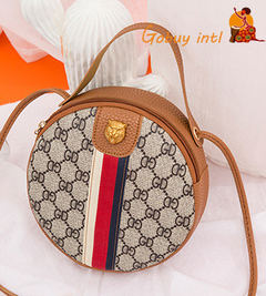 【Gobuyintl】 New Promotion, lady PU handbags,women shoulder bag brown as picture