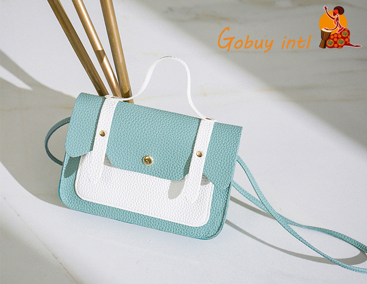 Gobuyintl women lovely shoulder bags,girls crossbody bags,handbags blue as picture