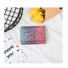 【Gobuy】New arrival! Rainbow girls ladies wallet, Special design 1 10*12*2cm