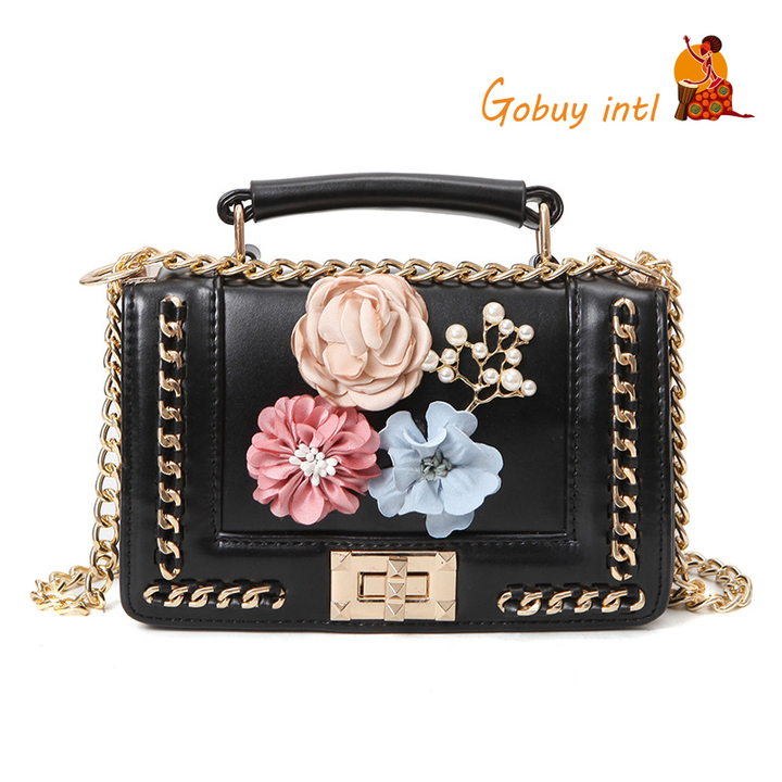 【Gobuy】Hot sales! Luxury women handbag and shoulder bag , office and causal  bag black 20*12*6cm