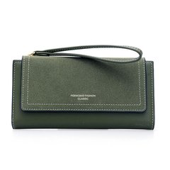 【Gobuy】New arrival! Graceful lady long design folder wallet and handbag, evening part handbags green 10*19*2cm