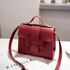 Casual Small Crossbody Bags for Women 2019 Design Women PU Leather Handbags Messenger Bolso Mujer Red 17*13.5*9CM