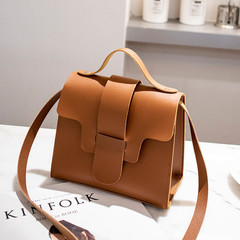 Casual Small Crossbody Bags for Women 2019 Design Women PU Leather Handbags Messenger Bolso Mujer Brown 17*13.5*9CM