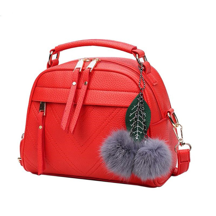 2019 New Women Handbags, Simple Fashion Flap, Trend Tassel Woman Messenger Bag, Shoulder Bag Gray 22*10*17CM 29