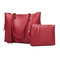 2019 New Red Two-piece Inclined Span Handbag Explosion Promotion, High quality Fringed   Crossbody Red 33*27*12CM