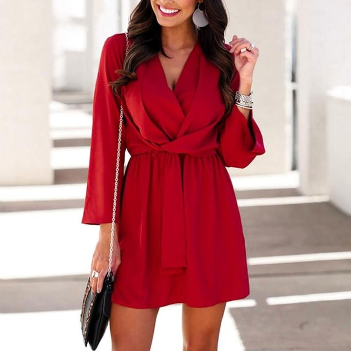 Elegant Lace Dress Women Long Sleeve Off Shoulder Sexy Slim Party Clubwear Dress Female  Vestido Purple 3XL 15