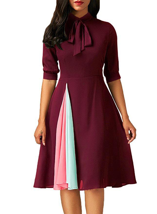 Elegant Lace Dress Women Long Sleeve Off Shoulder Sexy Slim Party Clubwear Dress Female  Vestido Purple 3XL 8