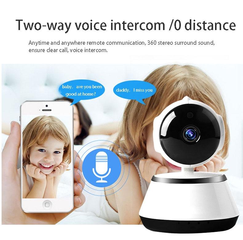 2019 HD 720P V380 housekeeping artifact wireless camera home wifi network 10