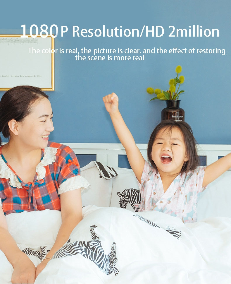 2019 HD 720P V380 housekeeping artifact wireless camera home wifi network 5