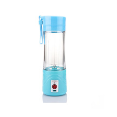 2019 Portable Juicer USB Rechargeable Mini Juice Cup Fruit Juice Cup blue one size