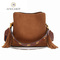 Single shoulder oblique Bag women Handbag brown 23*11*21cm
