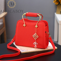 Ladies'handbags, small bags, ladies' single shoulder straddle bags women bags red 23.5*10*20cm