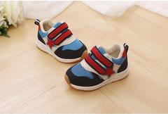 Children Shoes Kids Boys Sneakers Spring Autumn Net Mesh Breathable Casual Girls Shoes Running Shoe blue 12