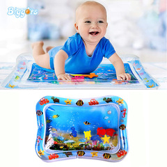 Inflatable water cushion toy baby playing on water cushion baby crawling on water cushion five-pointed star 50*60cm