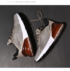 New couple loafers men's large size running shoes fashion breathable shock absorber couple shoes Massage insoles 41