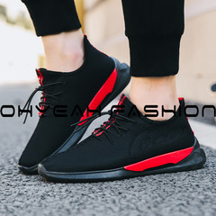 New men's shoes winter and fall trends go with casual canvas shoes and men's sneakers black 39