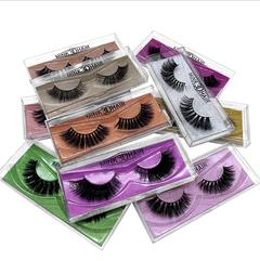 3 Packs 3D Handmade Multi-Layer Eye Lashes 2019 New Style Mink Hair False Eyelashes M21