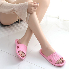 Indoor foam home hotel soft bottom cool slippers slipper slipper slipper indoor bathroom sapphire 36-37