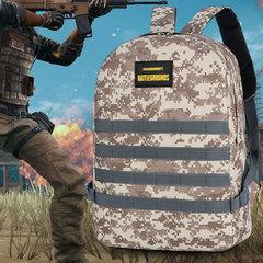 Tertiary bag camouflage student bag large capacity men and women travel backpack tide Desert digital All code