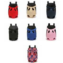 Pet chest bag dog cat go out backpack fashion lightweight pet bag pet supplies Canvas flag XL