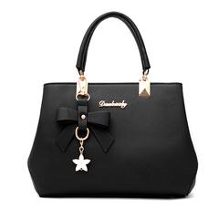 Women's bag 2019 new fashion big bag shoulder bag casual Messenger bag spring ladies bag handbag black 25*13*16 cm