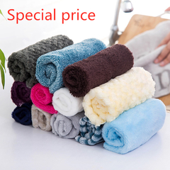Kitchen utensils Water-absorbent, easy to clean, non-sticky towel, dish cloth, fiber rag, soft towel random 5 pcs (25*25) cm