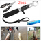 Curved mouth fishing pliers Multi-function road sub-pliers Strong horse fish line scissors Random As shown