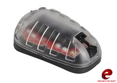 Element EX433 HEL-STAR 6 Survival Lamp Light Led Tactical Helmet Light RED BK