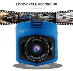 2.2 Inch Screen Mini Car Driving Recorder,HD 1080P Dash Cam 170 Wide Angle DVR with G-Sensor,Blue