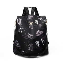 Women Oxford Backpack Multifuction Bagpack Casual Anti Theft Backpack for lady Schoolbag travel bag A001 one size