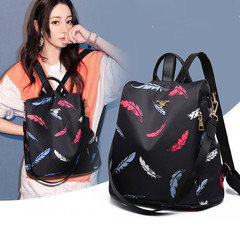 Women Oxford Backpack Multifuction Bagpack Casual Anti Theft Backpack for lady Schoolbag travel bag A004 one size